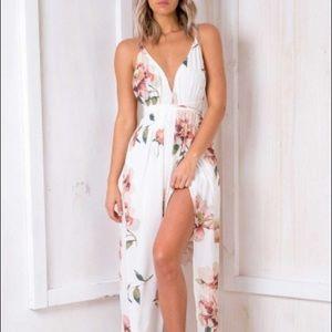 Agnes Floral Maxi Dress